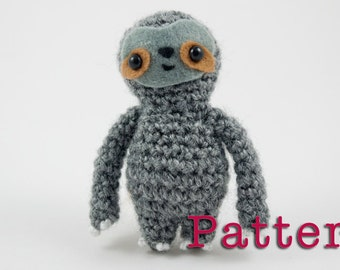 Crochet PATTERN for Sloth