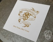 Wedding Crest Design Custom Wedding Logo Design