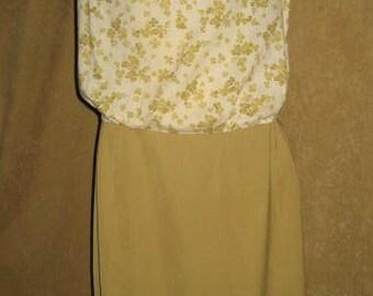Dress Cotton Womens Handmade 50s Vintage