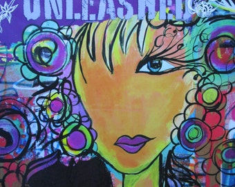 Doodles unleashed, Mixed media techniques for doodling, mark making and lettering #132