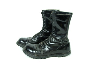 Steel Toe CORCORAN Military Jump Boot with Vibram Soles, Men's Size 8 E