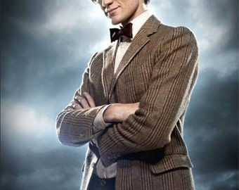 Childrens Doctor Who 11th Doctor's Tweed Jacket Custom Made
