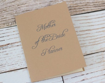 wedding planner - mother of the bride - mother of the groom - organizer - jotter - personalized -  bridal shower planning - minimalist