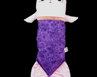 White mercat catfish plushie SALE