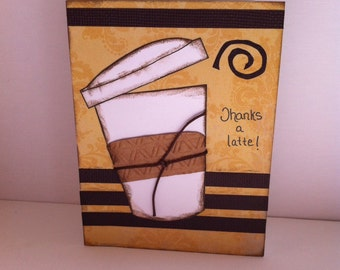 Thanks a Latte! Note Card