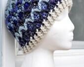 Crochet Lattice Hat - Moonshade II