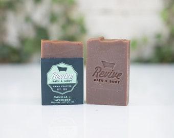 Vanilla + Lavender Soap Bar