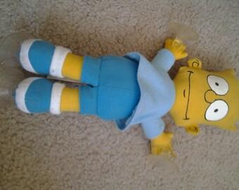 Vintage Bart Simpson Doll
