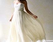 Wedding Dress, Wedding Gown, Bridal gown, Boho wedding dress, Ball gown dress, Train length wedding dress, Alternative wedding dress