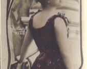 Marguerite Brezil, Belle Epoque Actress, Bookmark Sized Postcard by Leopold Reutlinger, circa 1905