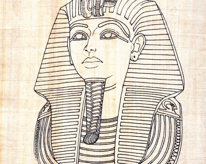 King Tut! Color Your Own Papyrus Paper! Unique, Fun Art Activity for kids and adults! Create Your Own Work of Fine Art on our Papyrus!