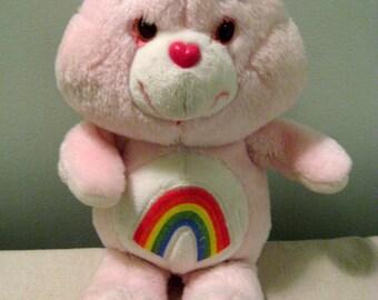 Vintage Care Bears Cheer Bear Doll