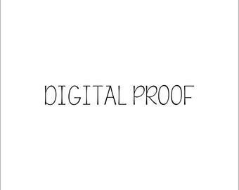 Digital Proof - Add-on - Mock-up of Design