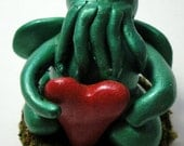 Itty Bitty Cthulhu with Heart