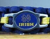 Notre Dame Bracelet, Paracord Bracelet, Survival Bracelet