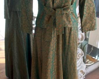 Vintage Vogue Paris Original Evening Gown with Jacket