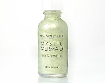 Mermaid Shimmer Water | Light Body Shimmer | Natural + vegan