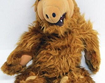 "Vintage 17"" Alf TV Show Plush Stuffed Animal Toy Doll 1986"