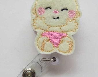Baby Badge Reel - Retractable Badge Reel -ID Badge Reel