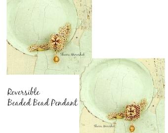 Reversible Pendant Necklace by Sharri Moroshok