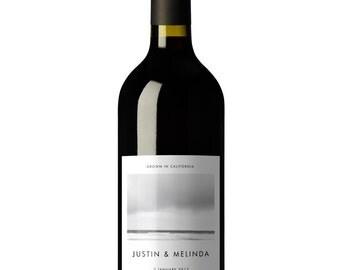 Wine, Wine Labels, Wine Labels Birthday, Wine Label Template, Wine Printable, Custom Wine Labels, Wine Label, Minimalist, Modern, Simple