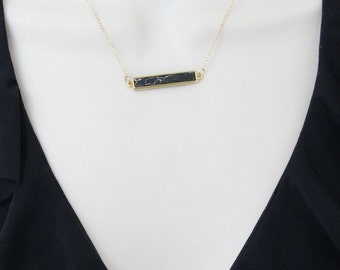 Bar Necklace, Delicate Gold Necklace, Minimal Necklace, Dainty Necklace, Everyday Necklace, Gift for Friend, Gifts for Her, Simple Necklace