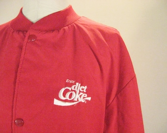 Enjoy DIET COKE Logo Bomber Jacket Soda