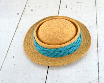 1950s Tapoo Hawes Straw Sun Hat