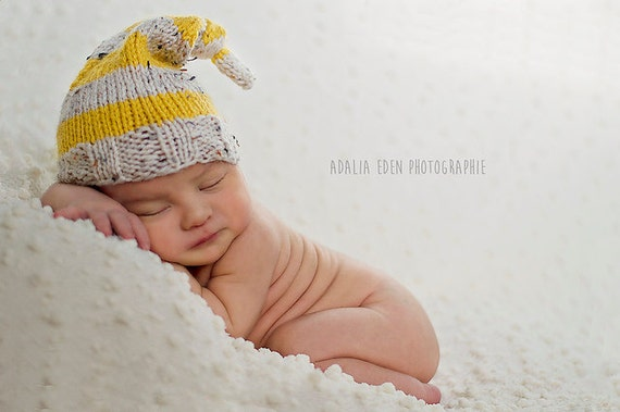 KNITTING PATTERN Lennon Long Tail Hat baby by shemakeshats