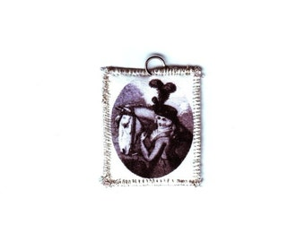 18th Century Horse and Rider Pendant