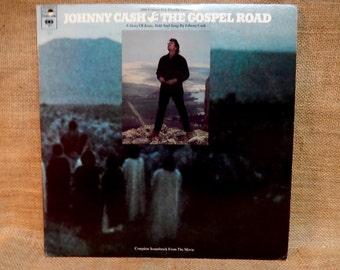 Johnny Cash - The Gospel Road...Original Motion Picture Soundtrack - 1973 Vintage Vinyl 2 lp Gatefold Record Album