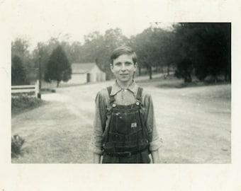 "Vintage Photo ""Albert"" Snapshot Photo Old Antique Photo Black & White Photograph Found Photo Paper Ephemera Vernacular - 26"