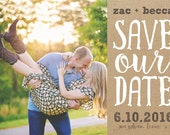 save the date cards-for Mary