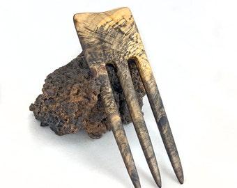 BUCKEYE BURLl & WENGE Hair Fork - 3 Prong