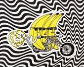 Banana Riders Sticker