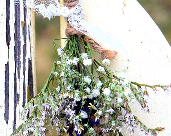 Dried Lavender Floral Hanging Posy