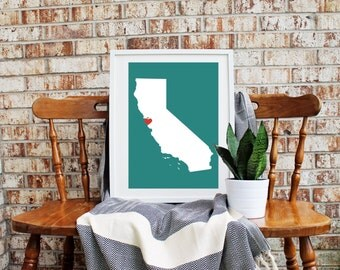 Custom Home Is Where The Heart Is State *FREE domestic SHIPPING*