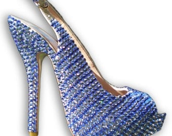 Custom Swarovski Crystal Heels -Straussed Shoes
