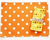 Fall Lunchbox Napkins - Set of 2