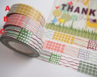 倉敷意匠 Washi Masking Tape (15M, made in Japan)
