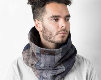 Mens scarf, winter scarf, wool scarf men, infinity scarf, Snock®, mens winter scarf, scarf man,