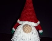 Crocheted Santa Gonk Gnome