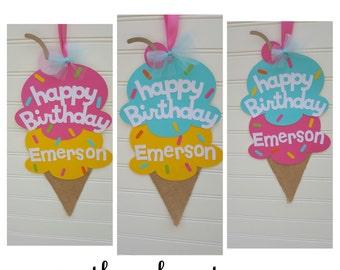 Ice Cream Door sign, Sweet Shop Party, Ice cream Birthday