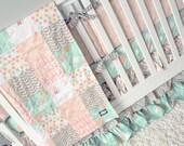 RESERVED for Heidi - Littlest Baby Patchwork Blanket