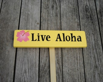 Custom Sign with stake, Yard Art, Garden Decor, Personalized Sign, Outdoor Sign, Backyard Sign, Beach Sign