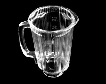 Waring Futura Blender Jar 750 900 Replacement Part Glass Vintage