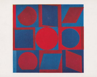 """Victor de Vasarely """"Kalota"""" -- 1990?, Printed in US. Condition 9/10"""