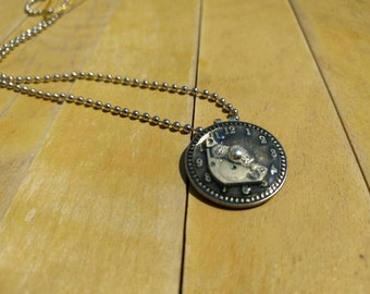 Steampunk Upcycled Watch Necklace