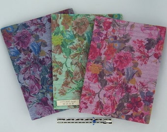 ROSES & STRIPES double-face viscose jersey, 1m