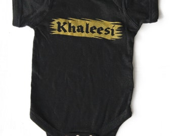 Game of Thrones // Khaleesi Onesie
